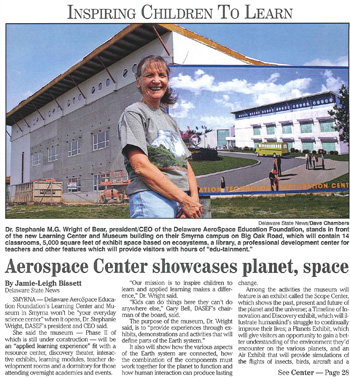 Delaware AeroSpace Education Foundation (DASEF) - News - DASEF